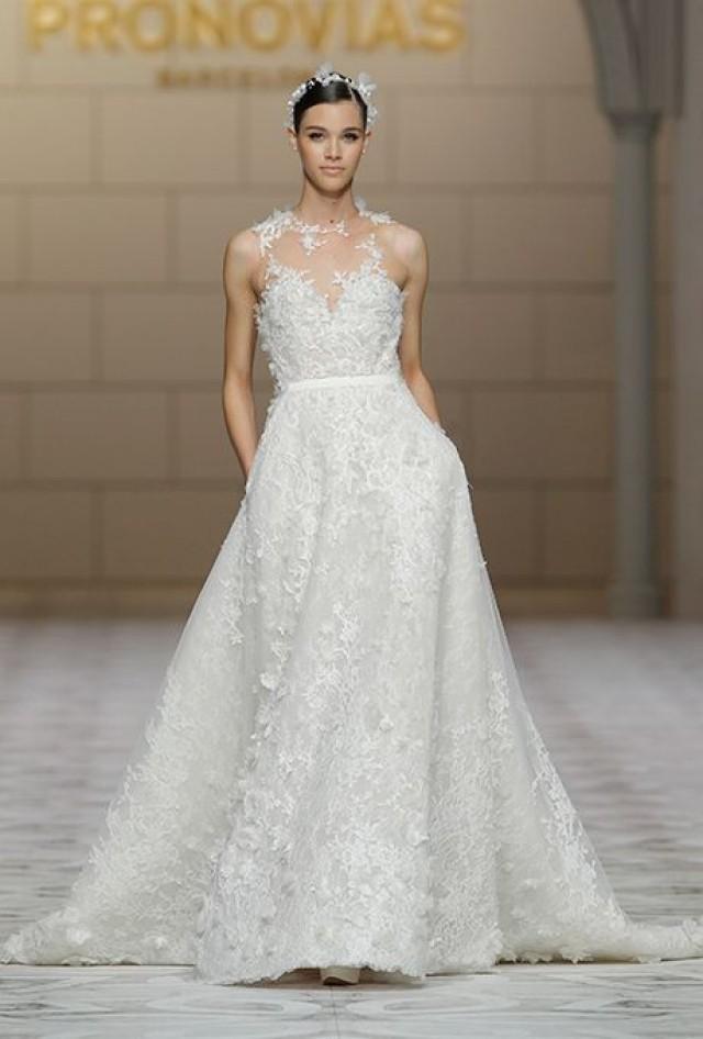 Pronovias Wedding Dresses Fall 2015 Bridal Runway Shows Brides 2180421