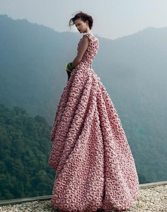 СТИЛЬНОЕ ВЯЗАНИЕ: Платье крючком - Вязаные модели, идеи для вязания