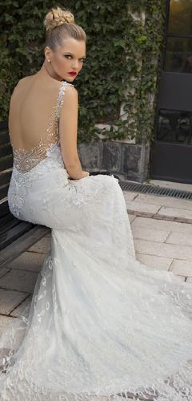 Backless dresses backless wedding gowns 2182982 weddbook for Backless wedding dress bra