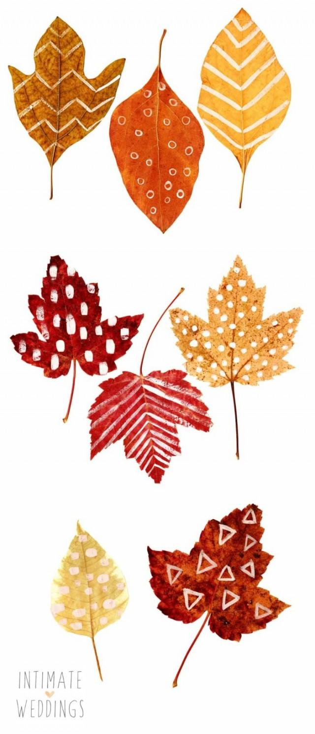 Impeccable image for leaf printable