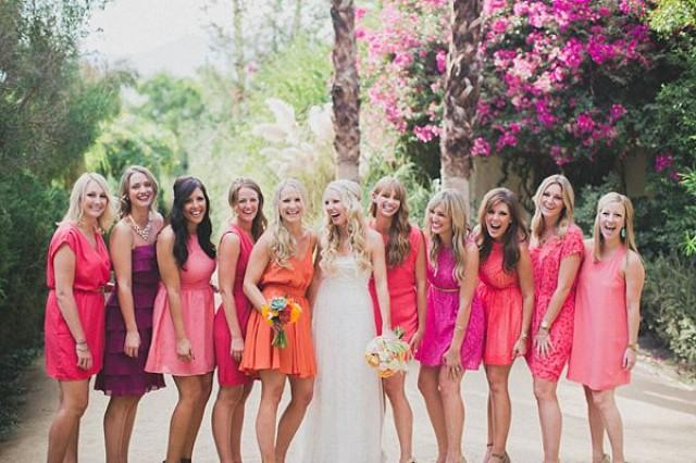 wedding photo - Bride and Bridesmaids