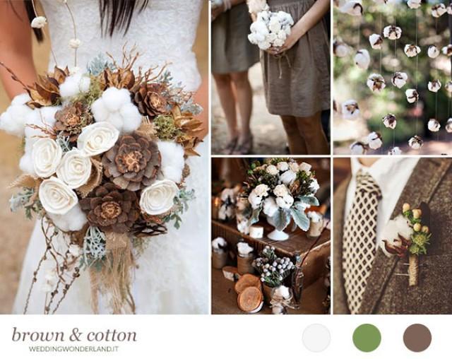 Matrimonio Rustico Como : Cotone per un matrimonio rustico weddbook