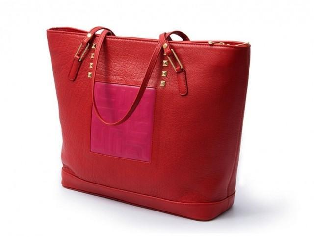 wedding photo - JJ Fashion's Women's Real Leather Double Straps Tote Style Bag