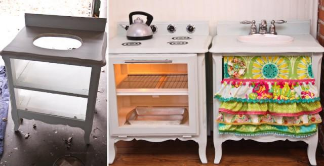how to make play kitchen for kids diy crafts handimania weddbook - Diy Kids Kitchen