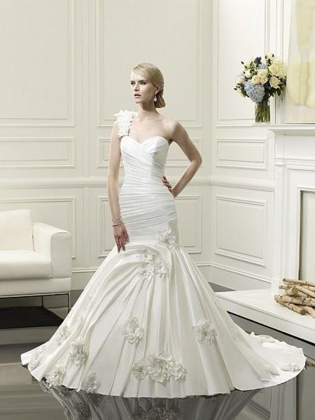 One shoulder strap wedding dress inspiration 2187170 for Wedding dresses one strap