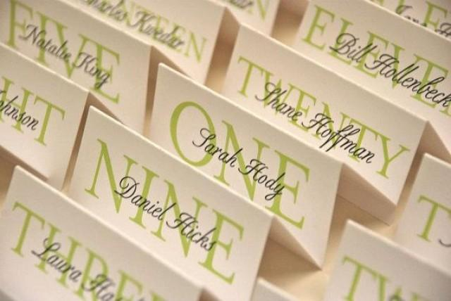Printable customized elegant place cards special event for Make your own wedding place cards