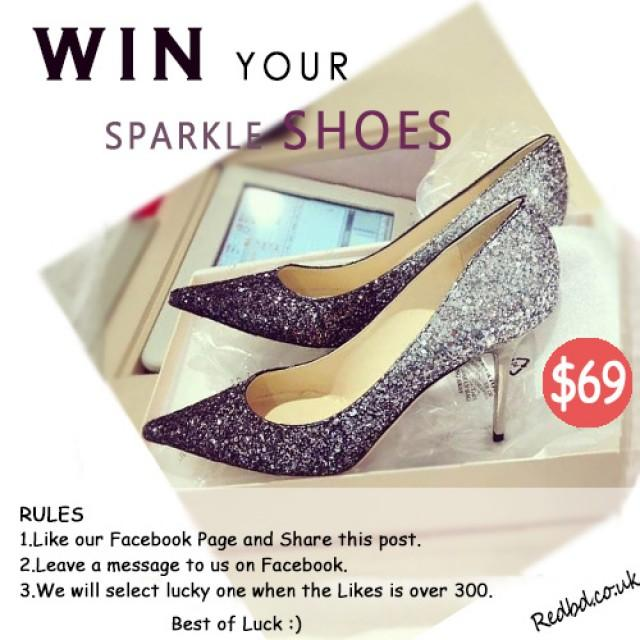 wedding photo - Win Sparkle Shoes From RedBD