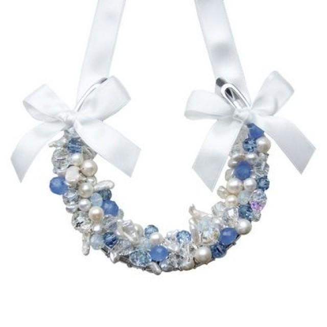 Pastell Hochzeit - Blue Opal Wedding Horseshoe (ar) #2187842 ...