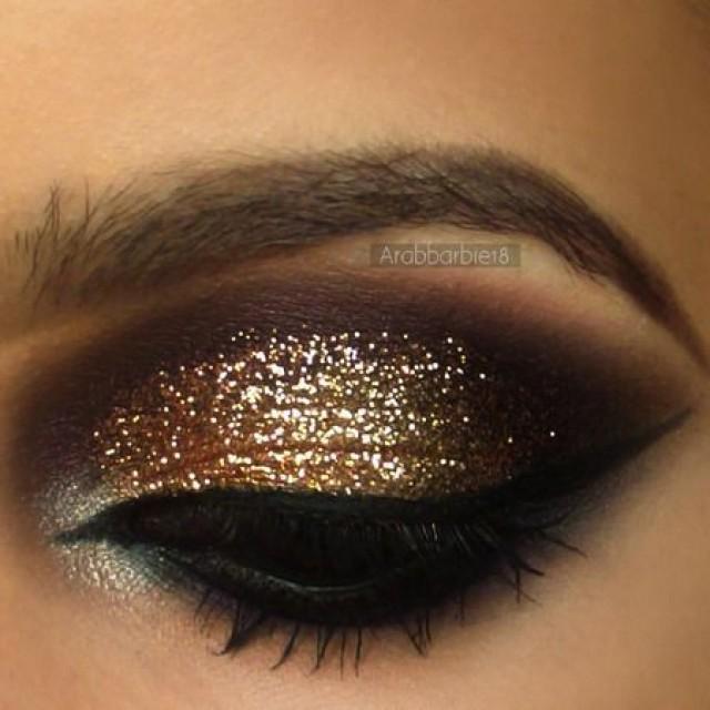 Мерцающий макияж 2