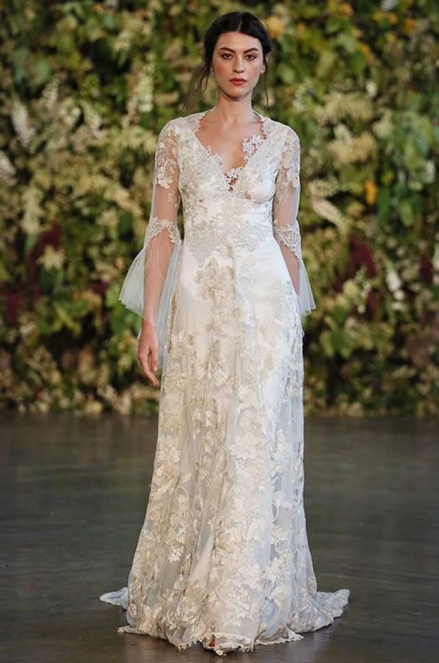 Fall wedding claire pettibone fall 2015 2188774 weddbook for Where to buy claire pettibone wedding dress