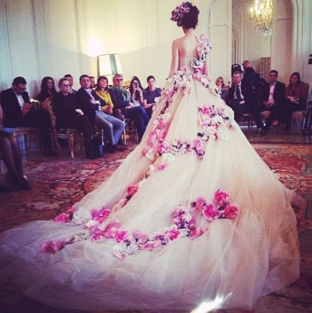 Fuscia wedding hot pink fuscia wedding palette 2188933 for Dolce gabbana wedding dress
