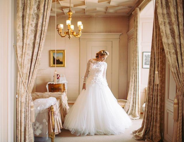 Glamorous destination wedding