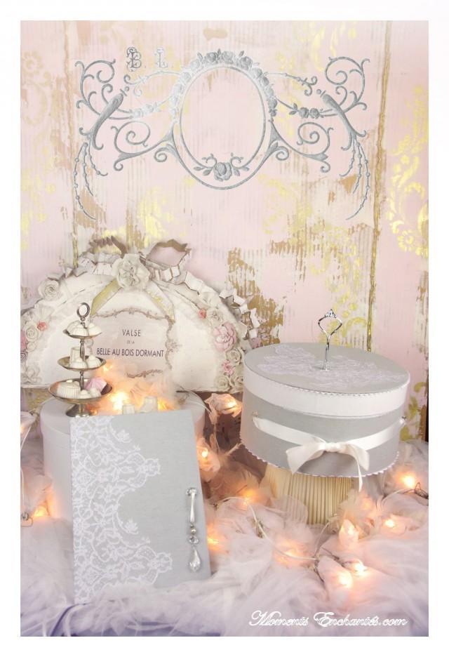 wedding photo - Duo de la mariée Livre d'or mariage et urne mariage