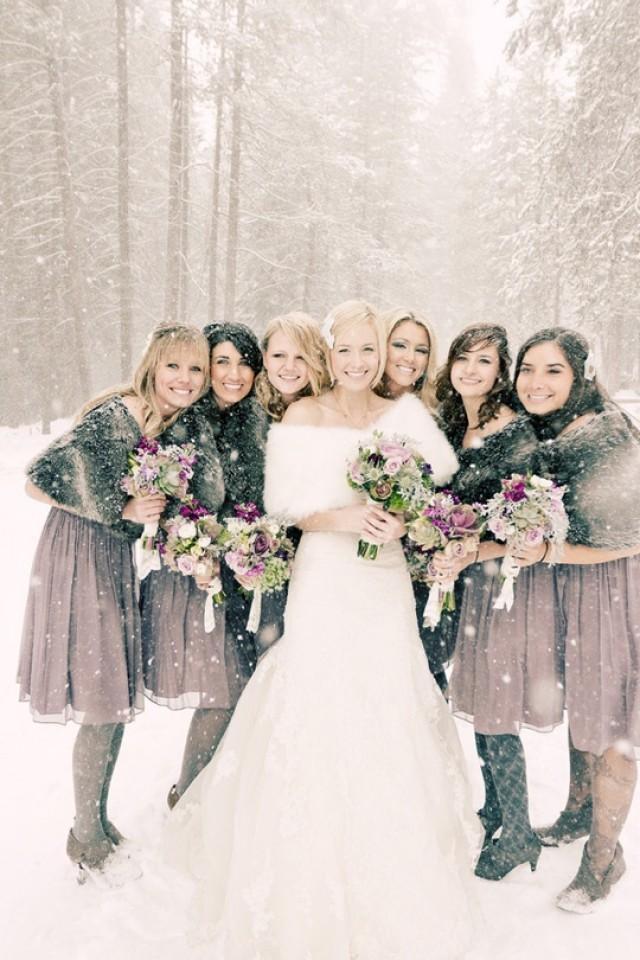 Winter wedding wedding winter wonderland theme 2192217 for Bridesmaid dresses for a winter wedding