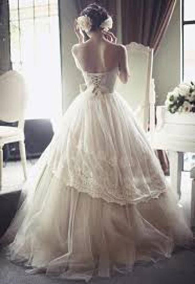 wedding photo - wedding dress