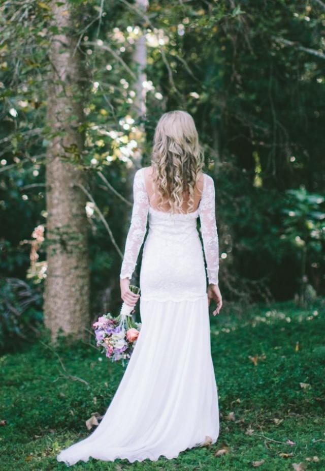Length sleeve wedding gown inspiration 2193911 weddbook