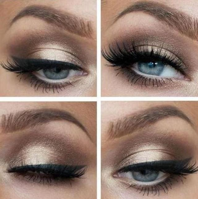 Ways to do makeup for blue eyes