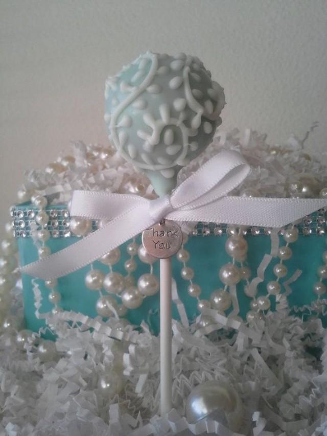 Diy Tiffany Blue Cake Pops