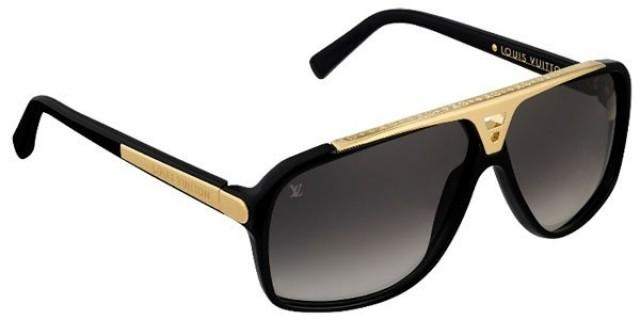 wedding photo - Louis Vuitton Mens Gold Combination LV Sunglasses