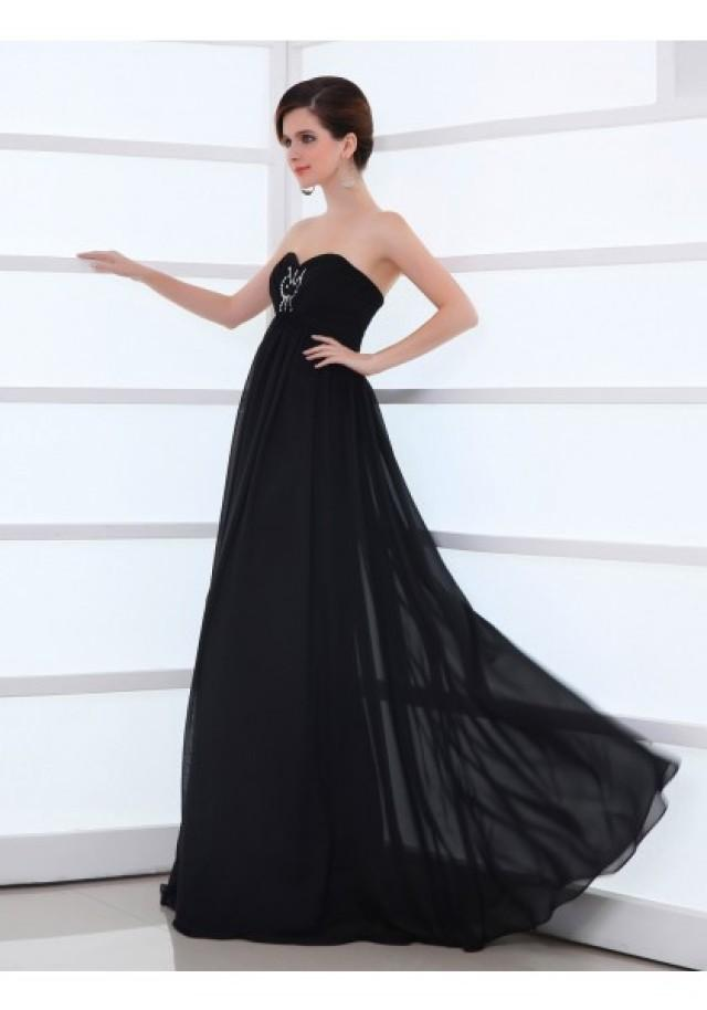 wedding photo - Sweetheart Floor Length Sleeveless Princess Evening Prom Dress