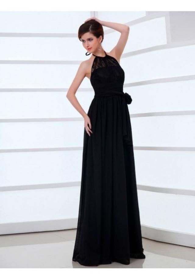 wedding photo - Tank Top Floor Length Sleeveless A Line Evening Prom Dress
