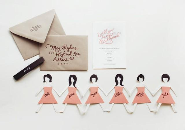 wedding photo - Will you be my bridesmaids?