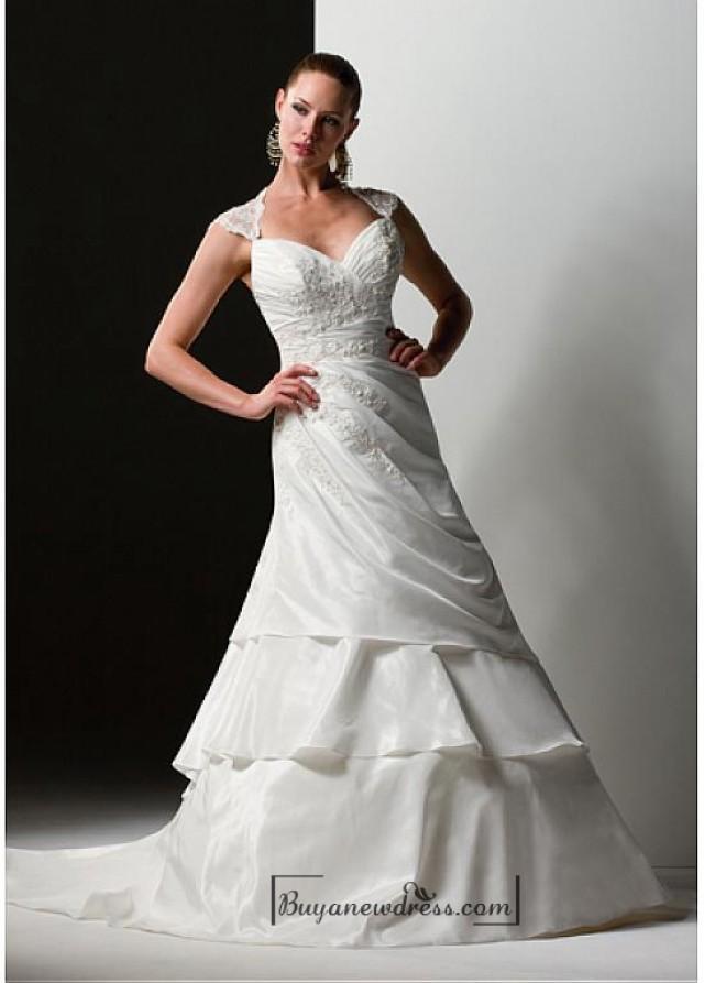 wedding photo - Beautiful Elegant Exquisite Sweetheart Wedding Dress In Great Handwork