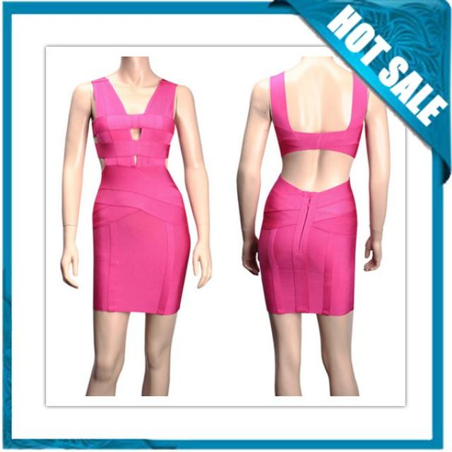 wedding photo - New Arrival Hot Sale High Quality Celeb Fashion Bandage Dress
