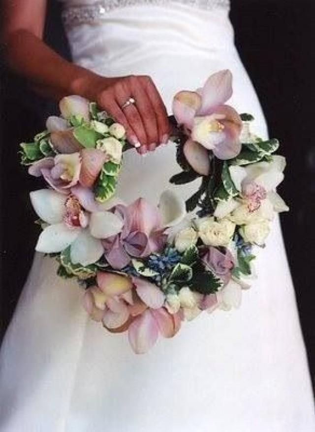 Unique Bridal Flower Bouquets : Unique wedding bouquet handles bouquets