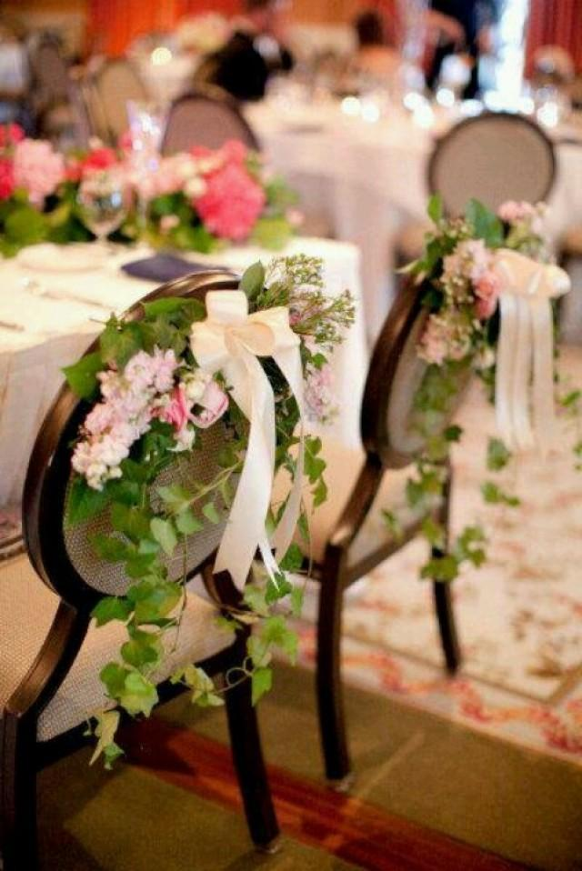 Wedding chairs wedding chair decor 2204496 weddbook - Deco mariage fait maison ...