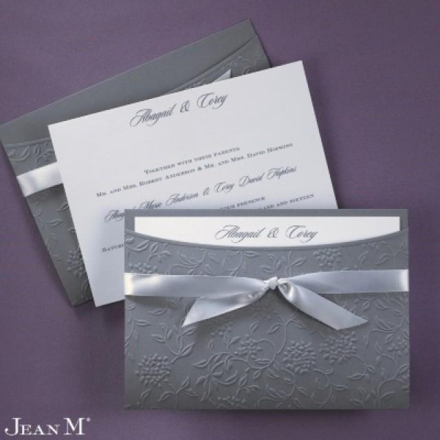 wedding photo - Flowers and Vines Invitations