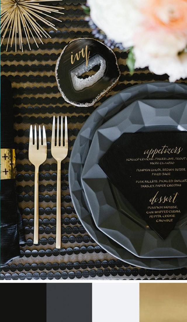5 New Year's Eve Color Palettes - Weddbook