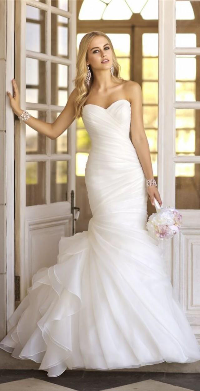 Wedding Dresses  Sexy Silver Lace Beaded Trumpet Dress