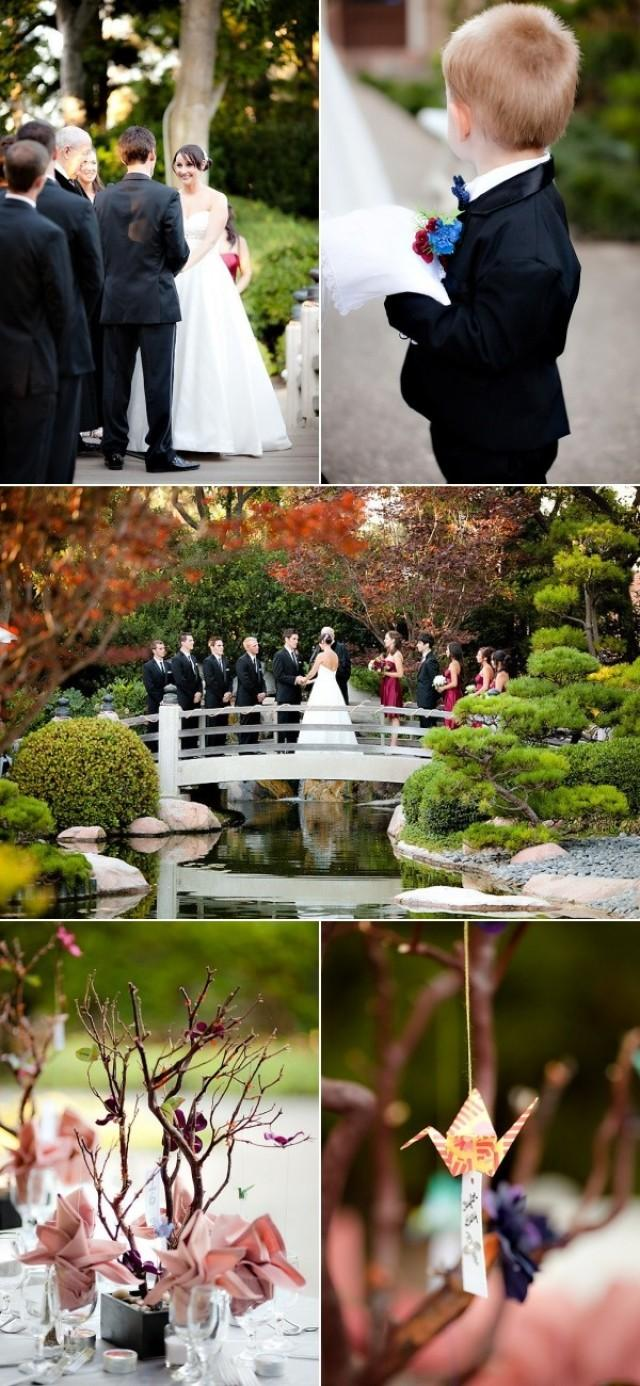 Earl Burns Miller Japanese Garden Wedding From The Youngrens 2206945 Weddbook