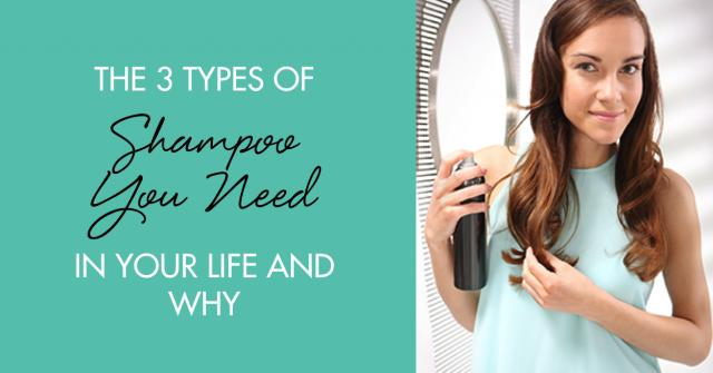 two kinds of shampoo Find out how a pre-shampoo treatment can benefit your hair and how to add one   luckily, there are a lot of different kinds if of products to choose from to help.
