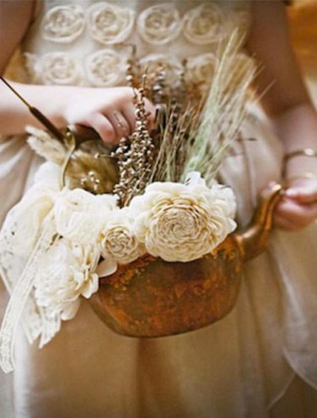 Alternative Flower Girl Basket Ideas : Flower girls weddings ring bearer