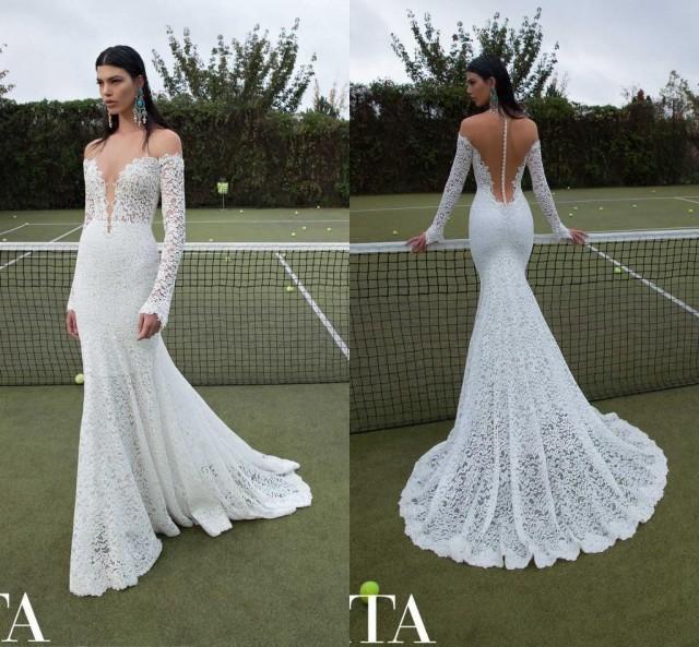 Cheap Berta Wedding Dresses Discount Cheap Berta 2015 Mermaid Wedding Dress