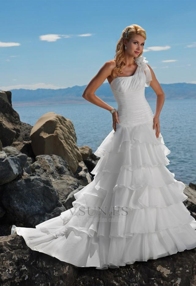 wedding photo - Vestido de novia Corte Sirena Satén