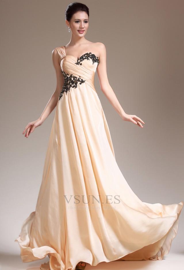 wedding photo - Vestido de noche Imperio Hasta