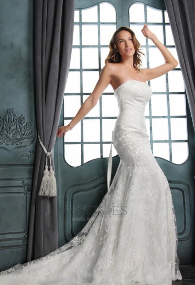 wedding photo - Vestido de novia Corte Sirena Hasta