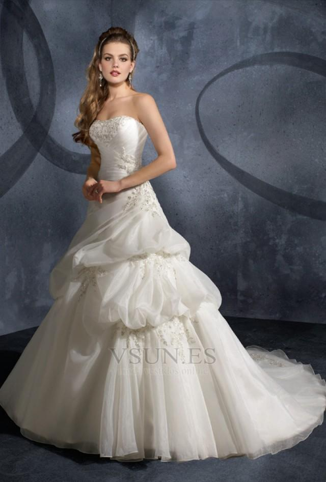 wedding photo - Vestido de novia Apliques