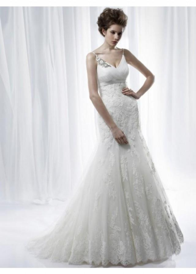 Modest Mermaid/Trumpet Lace Tulle Bridal Wedding Dress ...