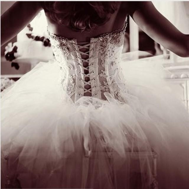 Фото девушки в свадебном 20 фотография