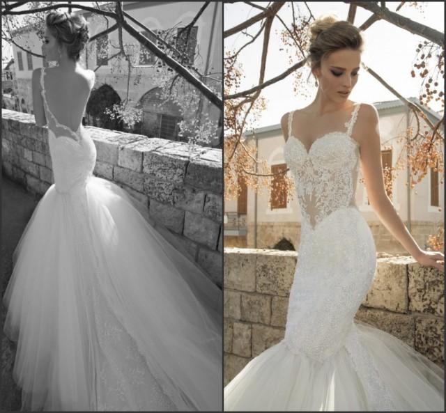 Discount Sexy Lace Wedding Dresses Galia Lahav Sequins