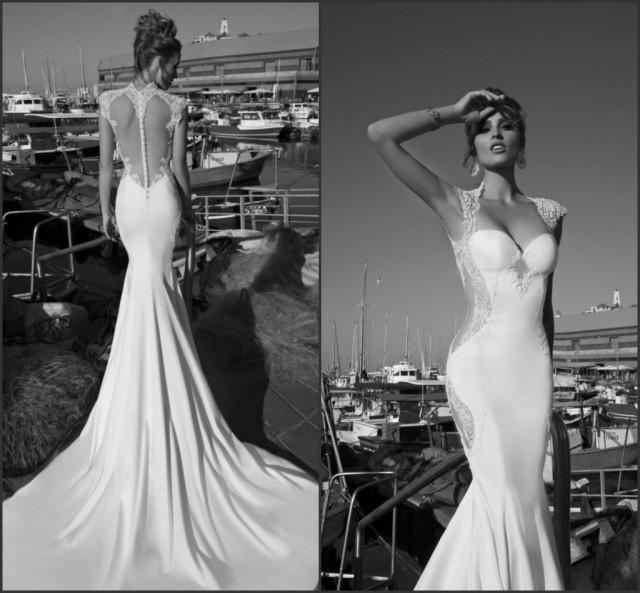 Discount new arrival beach mermaid galia lahav wedding for Wedding dress discount warehouse