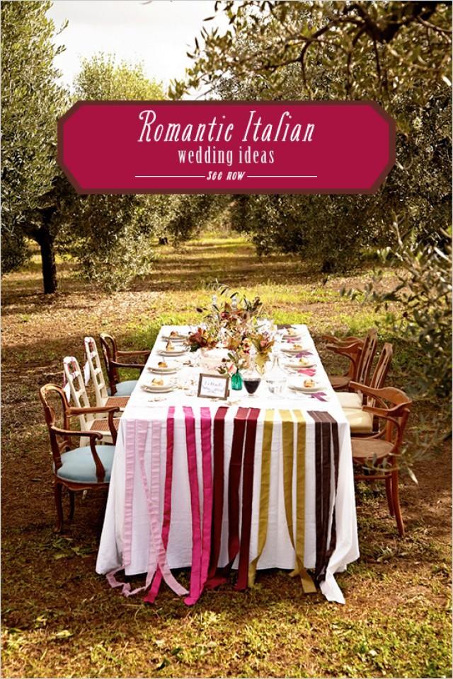 Romantic Italian Wedding Ideas