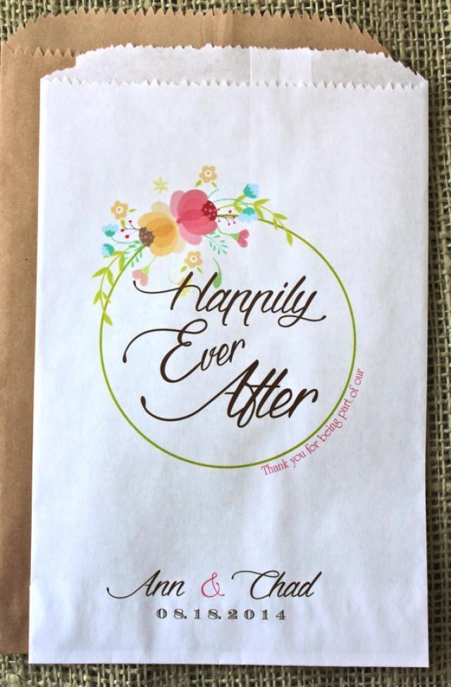 wedding photo - Wedding Favor Bag- Candy Buffet Bag