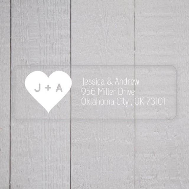 Clear Address Labels For Wedding Invitations 004 - Clear Address Labels For Wedding Invitations