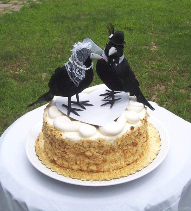 Best Gothic Wedding Cake Toppers
