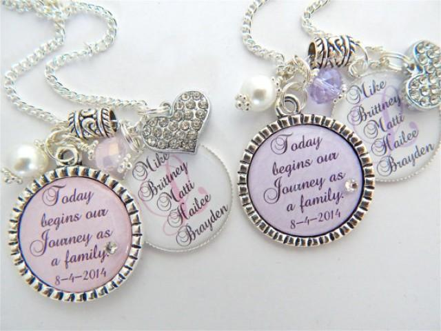 Wedding Gift Ideas For A Blended Family : ... Wedding Keychain Family Tree Gift Blended Family Gift Wedding Quote